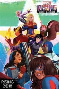 marvelrising-197x300 Marvel Is Launching A Next-Gen Animation Franchise 'Marvel Rising' Of Diverse Superheroes