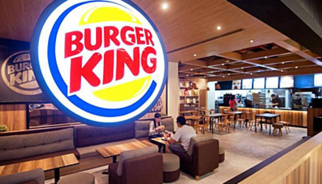 Burger King India, Burger king