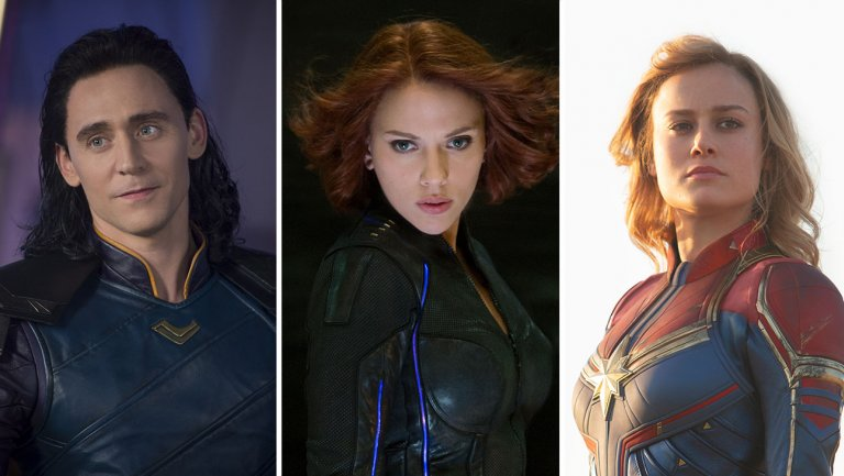 loki_black_widow_captain_marvel_split Why the future of Captain Marvel is more exciting than its present