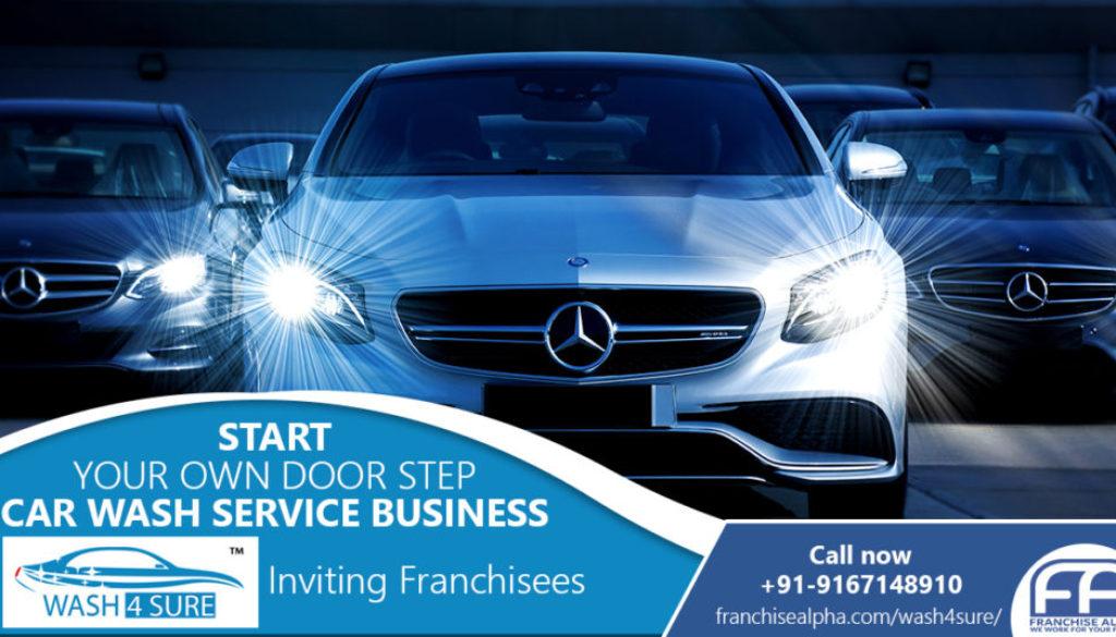 Wash4Sure Car Wash Franchise - Call 9167017078